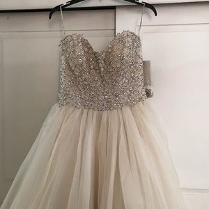 Wedding/Quinceanera dress Champagne color